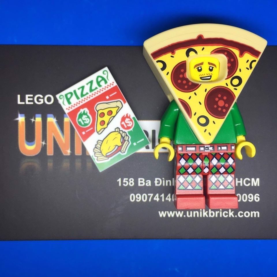 LEGO Pizza Suit Guy Series 19