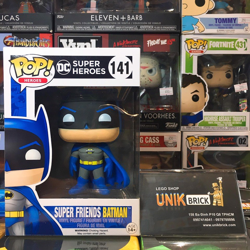 [CÓ SẴN] FUNKO POP 141 Super Friends Batman