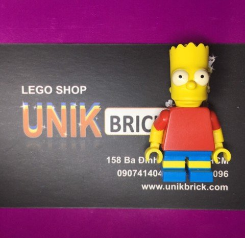 LEGO The Simpsons Bart No 2