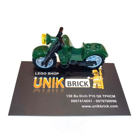LEGO City Dark Green Motorbike