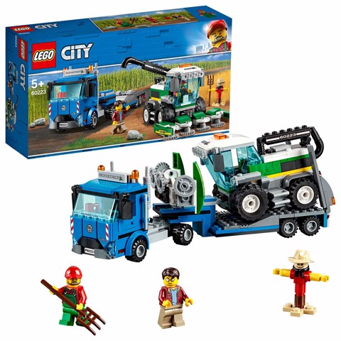 [CÓ SẴN] LEGO City 60223 Great Vehicles Harvester Transport