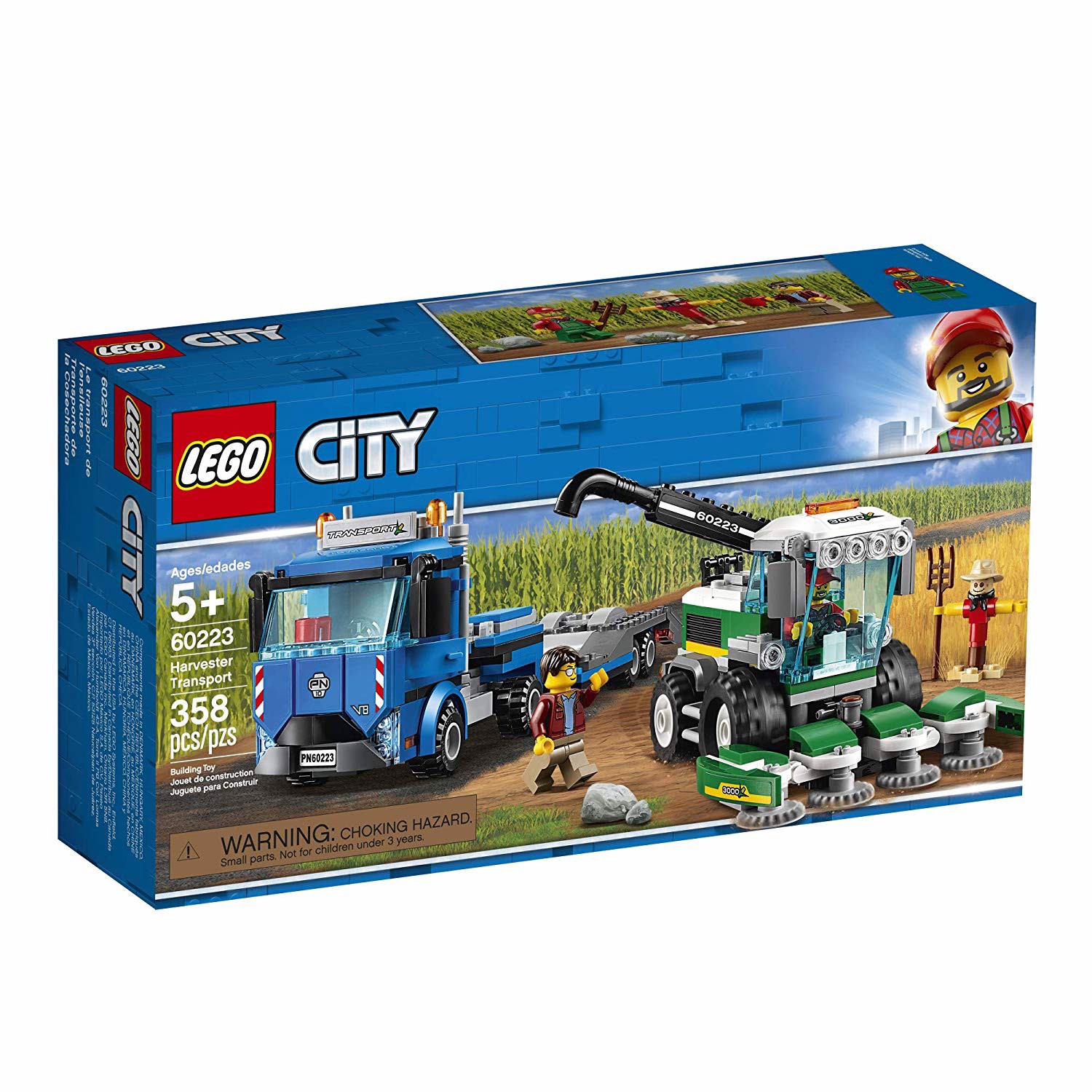 LEGO City 60223 Great Vehicles Harvester Transport