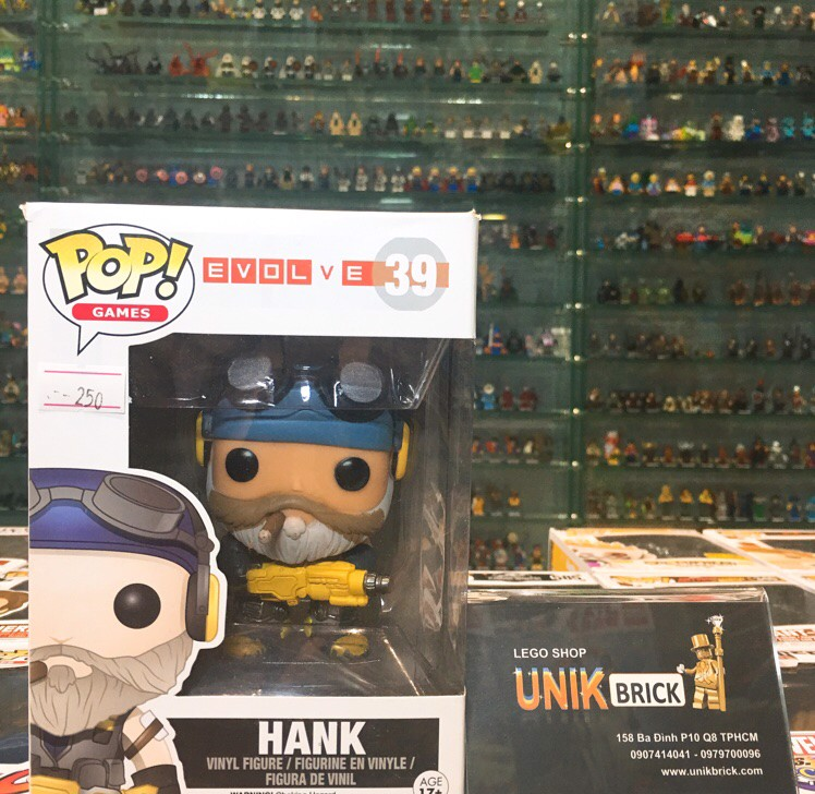 FUNKO POP Evolve 39 Hank