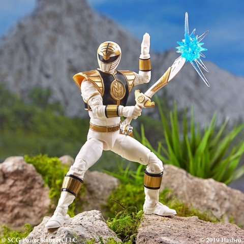 [CÓ SẴN] Hasbro Power Rangers Lightning Collection 6 Inch Mighty Morphin White Ranger Collectible Action Figure