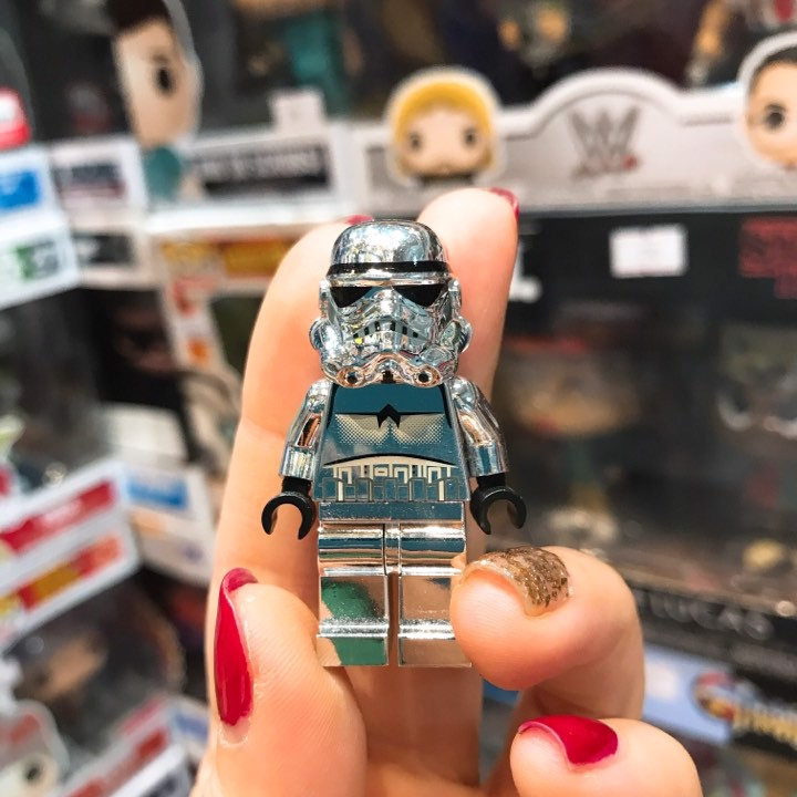 LEGO Star Wars Chrome Silver Stormtrooper