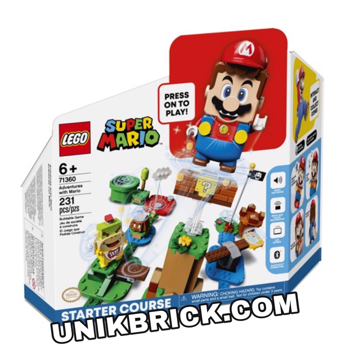 [HÀNG ĐẶT/ ORDER] LEGO Super Mario 71360 Adventures with Mario Starter Course