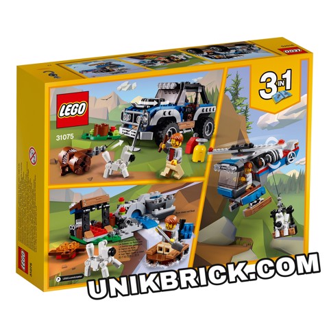 [CÓ HÀNG] LEGO Creator 31075 Outback Adventures 3 IN 1
