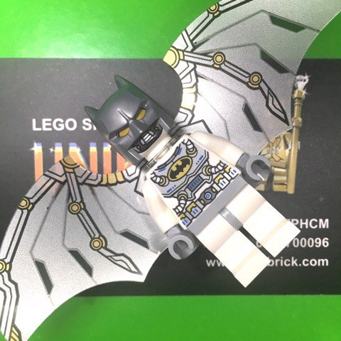 LEGO DC Super Heroes White Batman