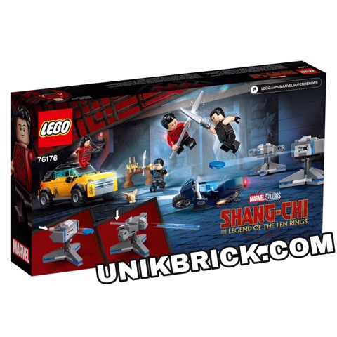 [HÀNG ĐẶT/ ORDER] LEGO Marvel Shang Chi 76176 Escape from The Ten Rings