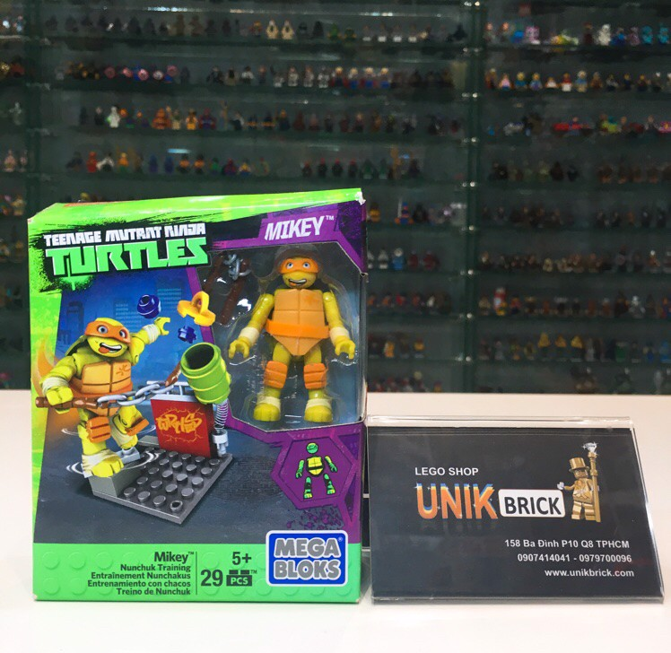 MEGA BLOKS Ninja Turtles Mikey Nunchuk Training