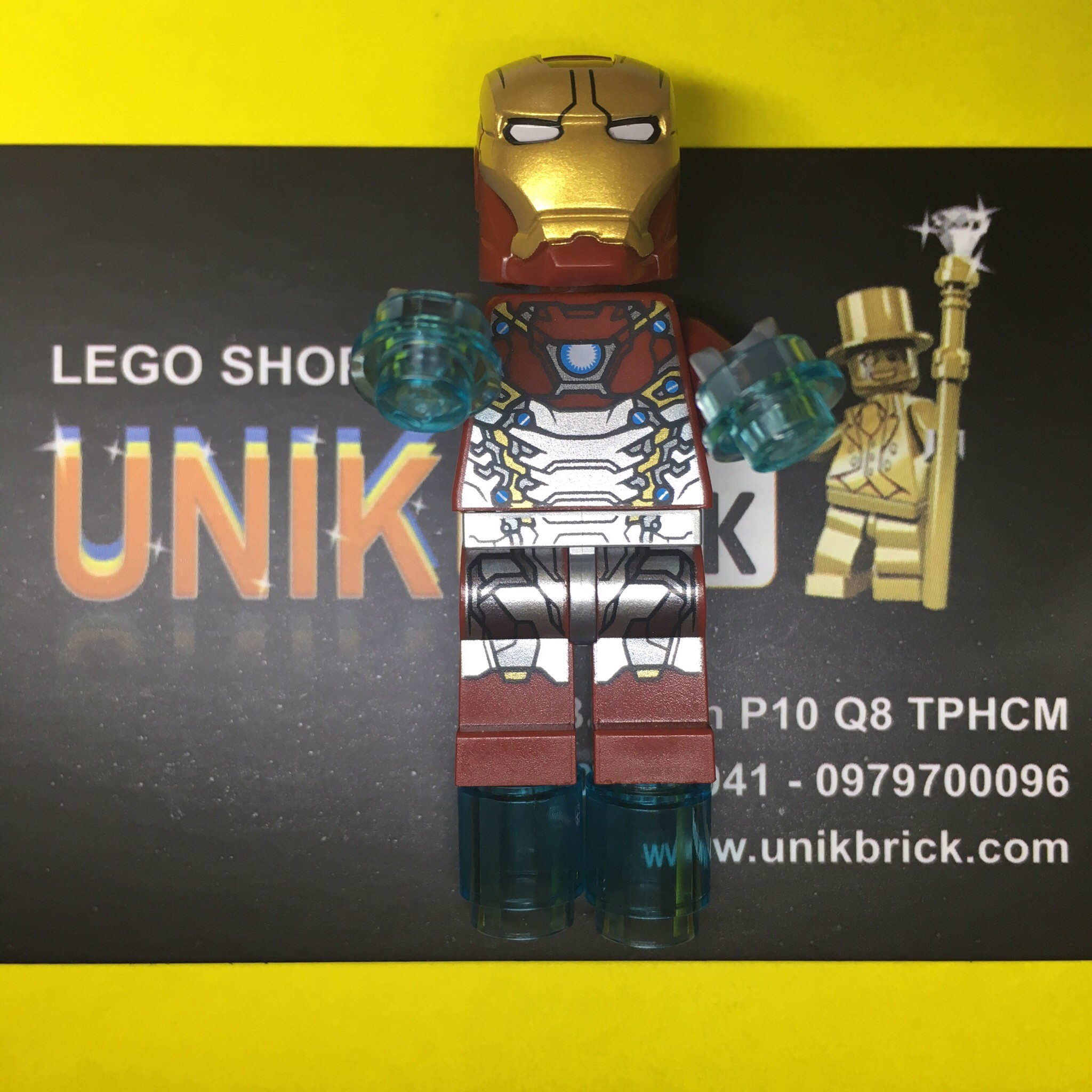 LEGO Marvel Super Heroes Iron Man Mark 47