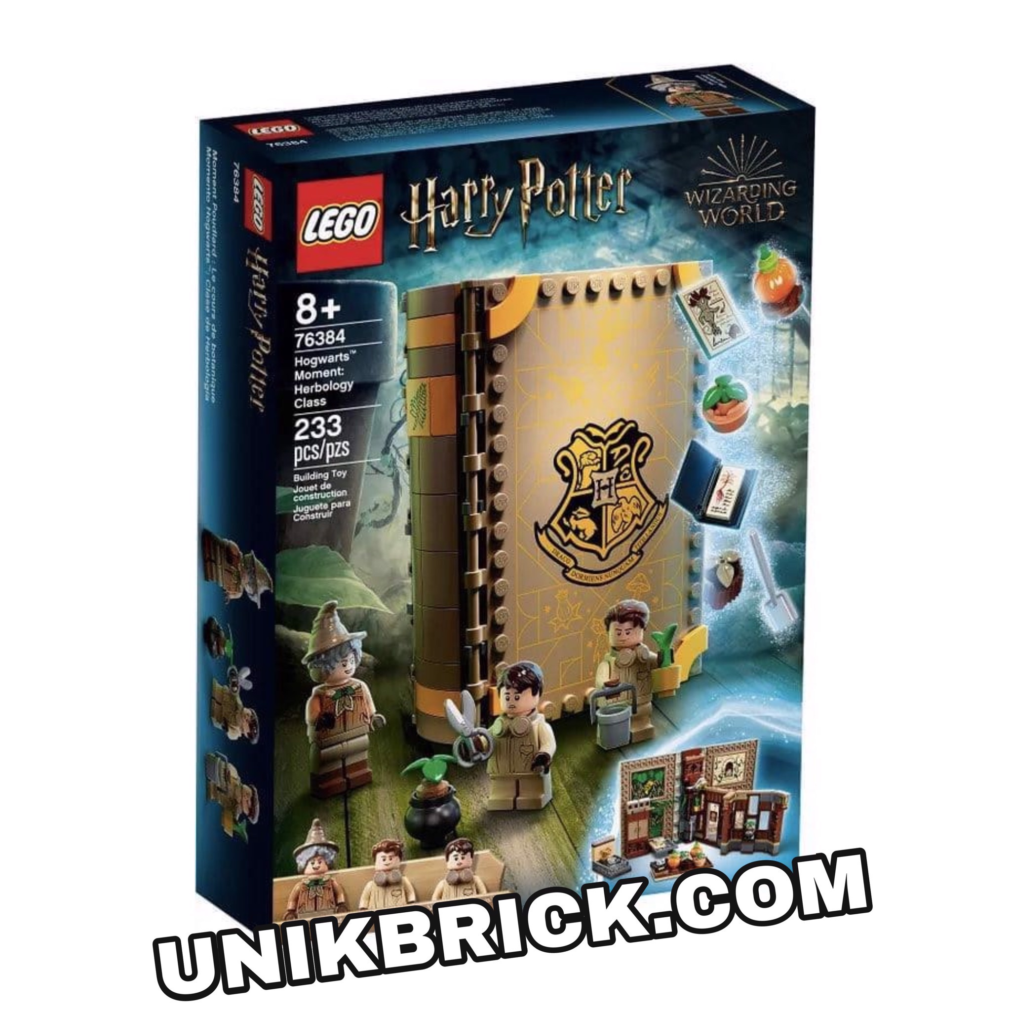 [HÀNG ĐẶT/ ORDER] LEGO Harry Potter 76384 Hogwarts Moment: Herbology Class