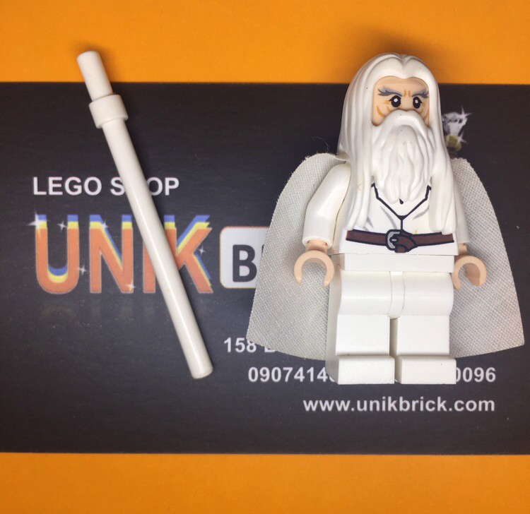 LEGO LOTR Hobbit White Gandalf No 4