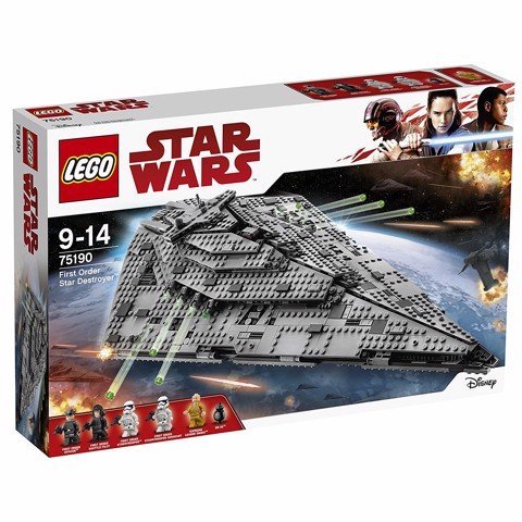 [HÀNG ĐẶT/ ORDER] LEGO 75190 Star Wars Episode VIII First Order Star Destroyer
