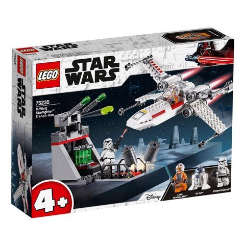 LEGO 75325 Star Wars X-Wing Starfighter Trench Run