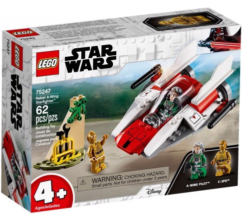 [HÀNG CÓ SẴN] LEGO Star Wars 75247 Rebel A-Wing Starfighter