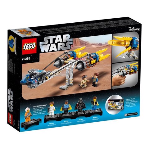 [CÓ SẴN] LEGO Star Wars 75258 Anakin's Podracer 20th Anniversary Edition