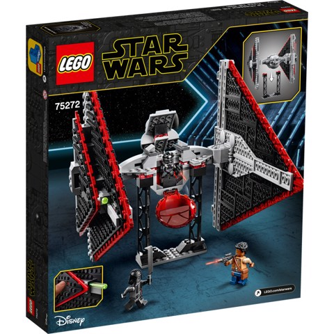 [CÓ HÀNG] LEGO Star Wars 75272 Sith TIE Fighter