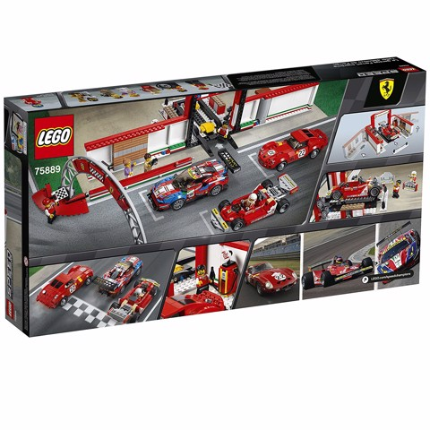 [CÓ SẴN] LEGO Speed Champions 75889 Ferrari Ultimate Garage