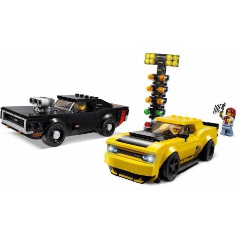 [CÓ HÀNG] LEGO 75893 Speed Champions Dodge Challenger SRT Demon And 1970 Dodge Charger R/T