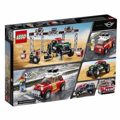 [CÓ SẴN] LEGO Speed Champions 75894 1967 Mini Cooper S Rally and 2018 MINI John Cooper Works Buggy