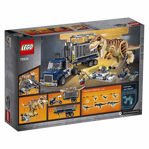[CÓ SẴN] LEGO Jurassic World 75933 T Rex Transport