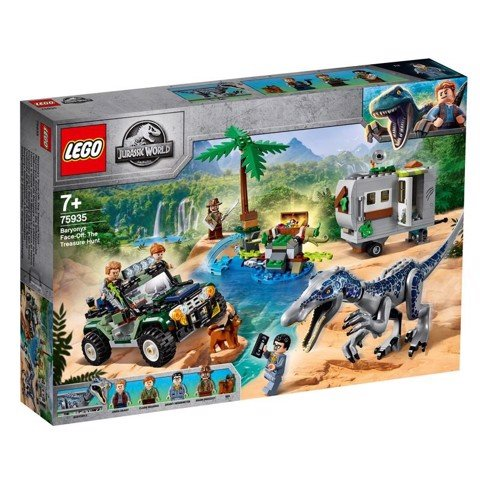 [CÓ HÀNG] LEGO Jurassic World 75935 Baryonyx Face Off The Treasure Hunt