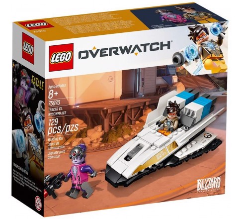 [CÓ SẴN] LEGO Overwatch 75970 Tracer Vs Widowmaker