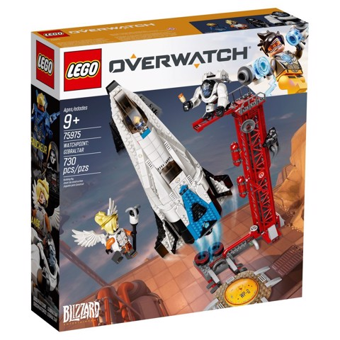 [HÀNG CÓ SẴN] LEGO Overwatch 75975 Watchpoint: Gibraltar