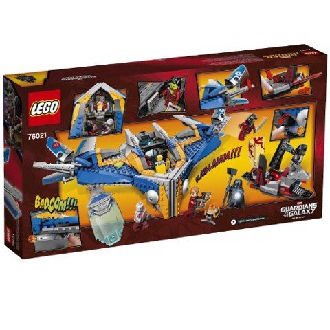 LEGO Marvel Super Heroes 76021 The Milano Spaceship Rescue
