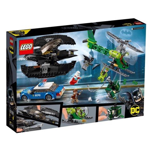[CÓ SẴN] LEGO DC Super Heroes 76120 Batman Batwing and The Riddler Heist