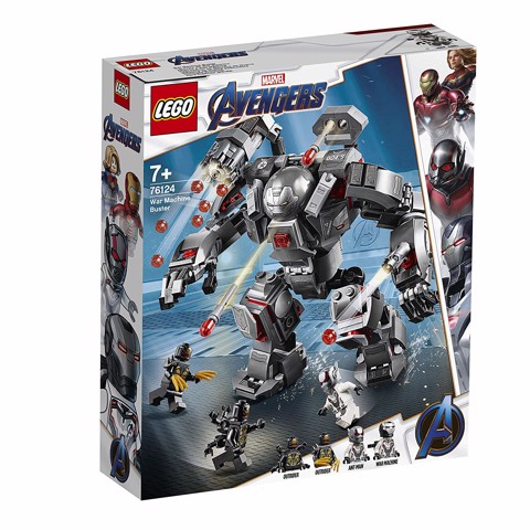 [ORDER] LEGO Marvel Super Heroes Avengers Endgame 76124 War Machine Buster