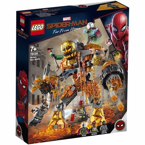 [CÓ SẴN] LEGO Marvel Super Heroes 76128 Molten Man Battle
