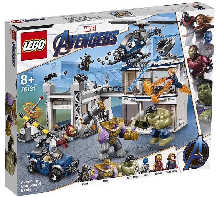 [CÓ SẴN] LEGO Marvel Super Heroes Avengers Endgame 76131 Avengers Compound Battle
