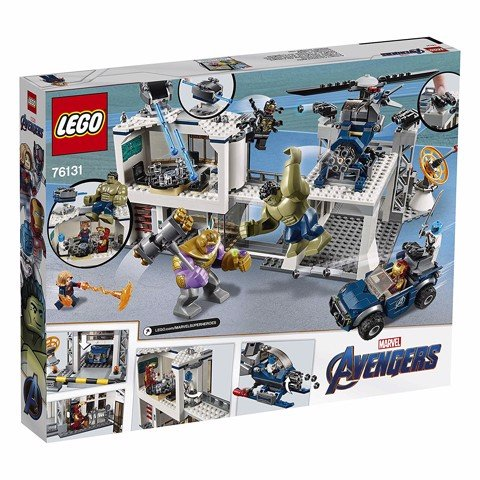 [ORDER] LEGO Marvel Super Heroes Avengers Endgame 76131 Avengers Compound Battle