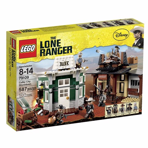 [CÓ SẴN] LEGO Lone Ranger 79109 Colby City Showdown