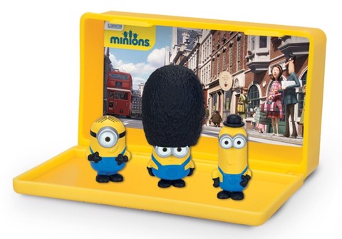 THINKWAY TOYS Micro Minion Playset British Minions