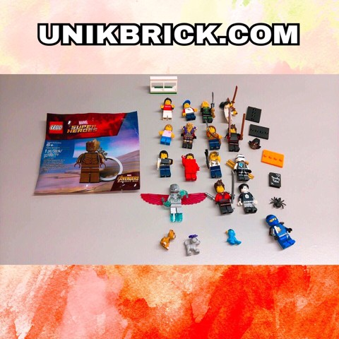 LEGO Combo 17 minifigures and accessories