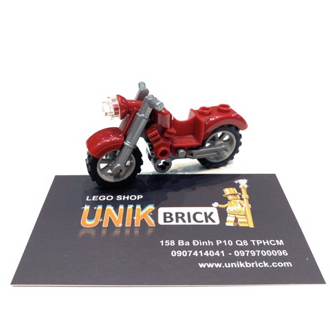 LEGO City Red Motorbike No 26