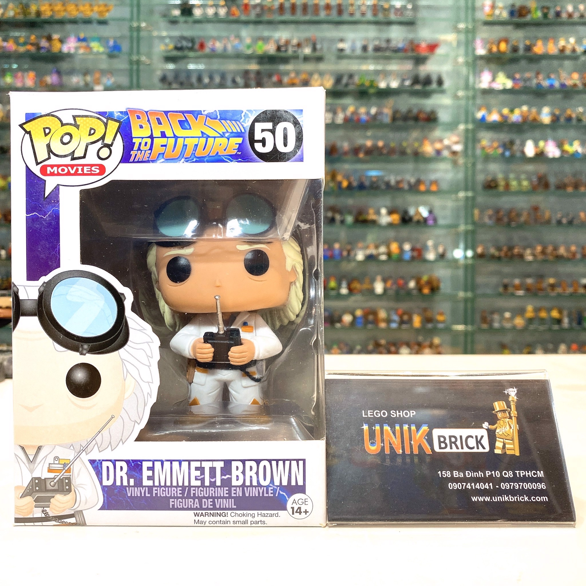 FUNKO POP Back to The Future 50 Dr Emmett Brown
