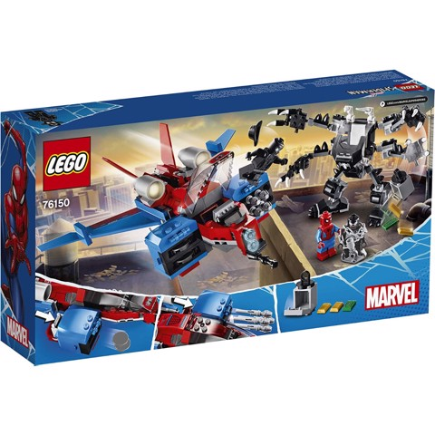 LEGO Marvel 76150 Spiderjet vs. Venom Mech