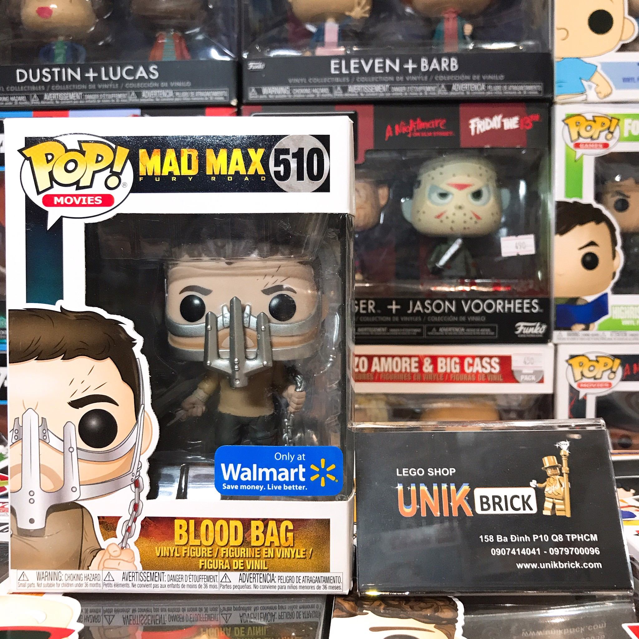 Funko Pop Mad Max 510 Blood Bag