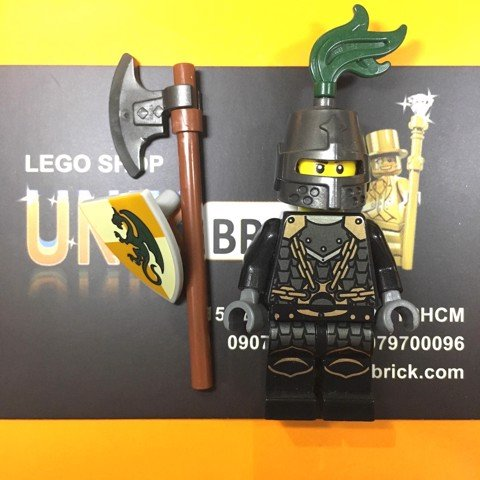LEGO Kingdoms Green Dragon Knight No 6