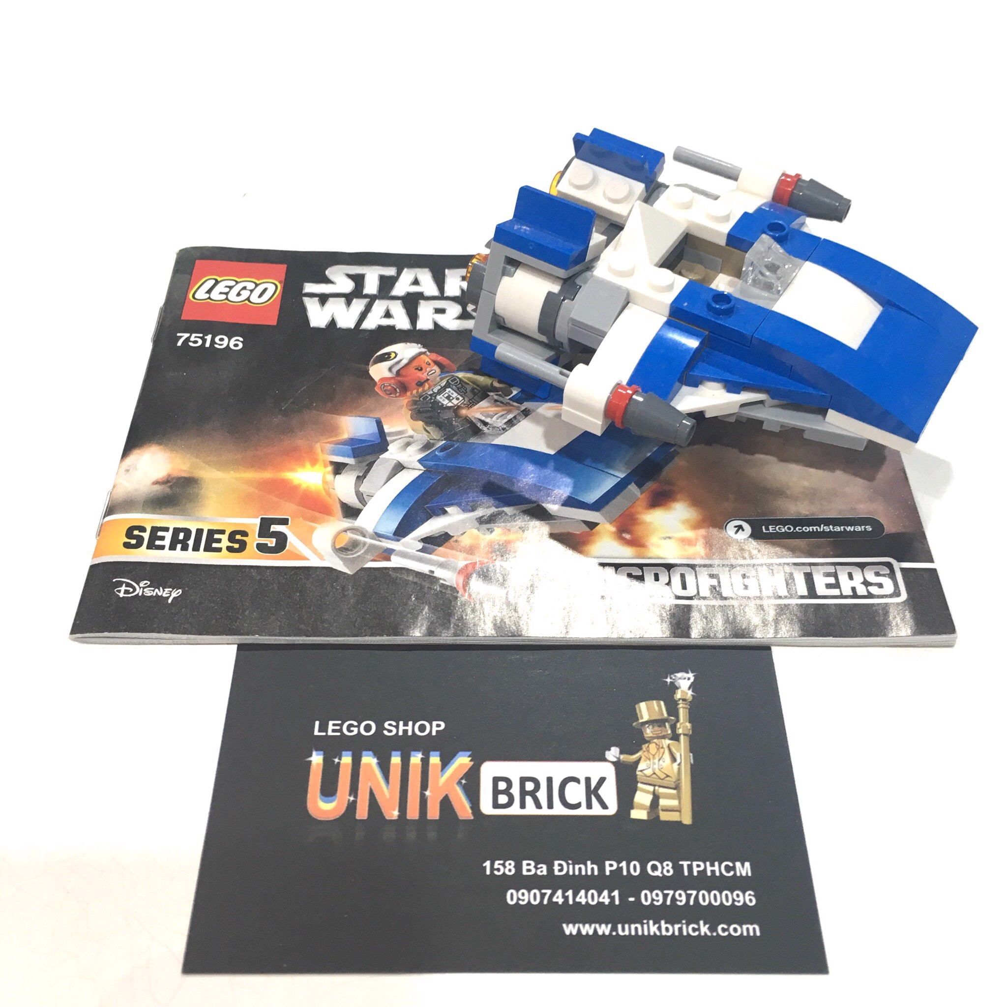 LEGO Star Wars 75196 Tallissan Lintra's Microfighter