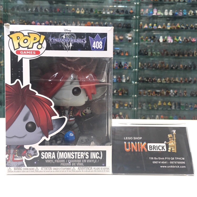 FUNKO POP Kingdom Hearts 408 Sora