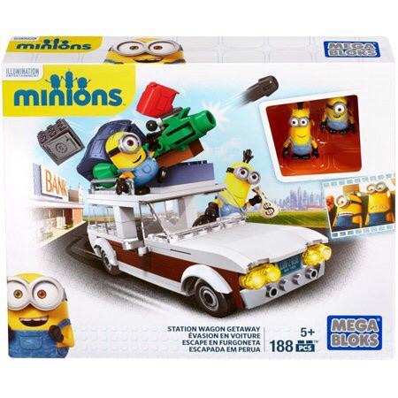 MEGA BLOKS Despicable Me Minions Station Wagon Getaway Escape