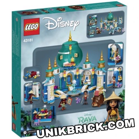 [HÀNG ĐẶT/ ORDER] LEGO Disney 43181 Raya and the Heart Palace