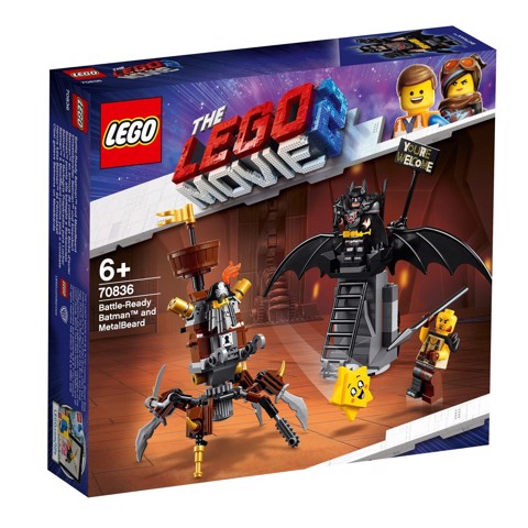 LEGO The LEGO Movie 70836 Battle Ready Batman and MetalBeard