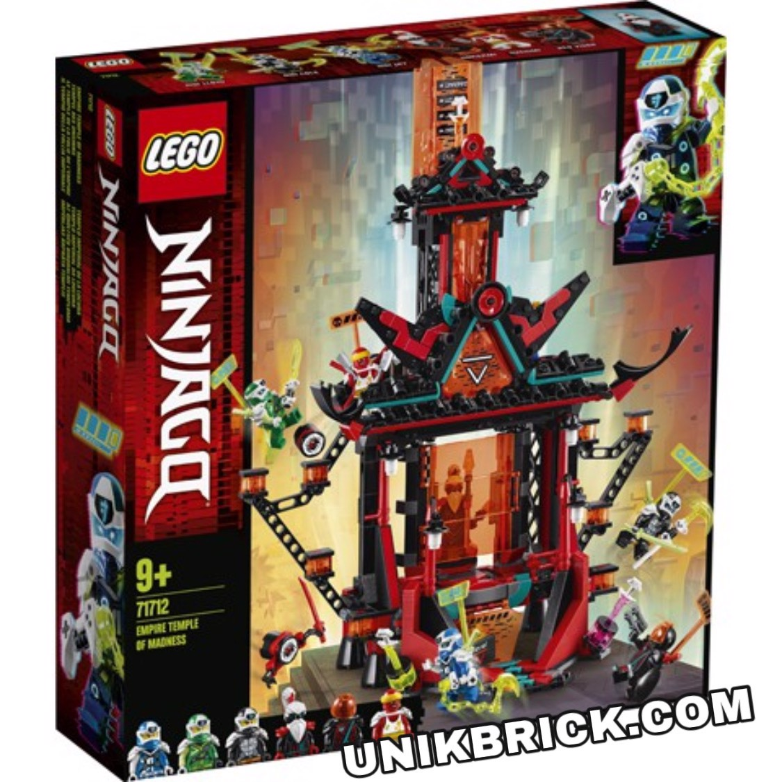 [CÓ HÀNG] LEGO Ninjago 71712 Empire Temple of Madness