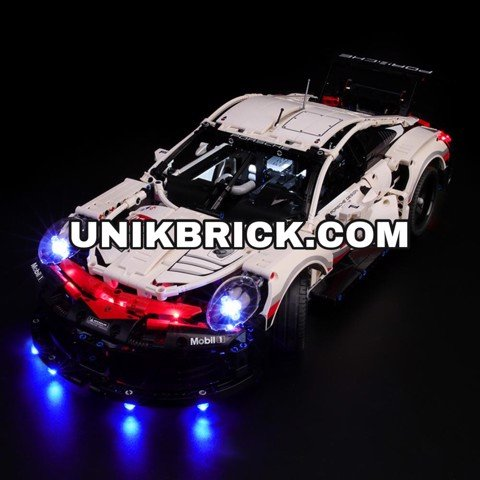 [HÀNG ĐẶT/ ORDER] Briksmax Light Kit For Lego Porsche 911 RSR 42096